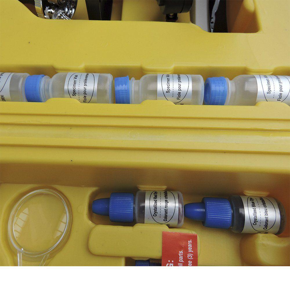 Microscópio Skylife XSP-1XT Kit 96 Pcs Maleta Luxo 300x, 600x, 1200x