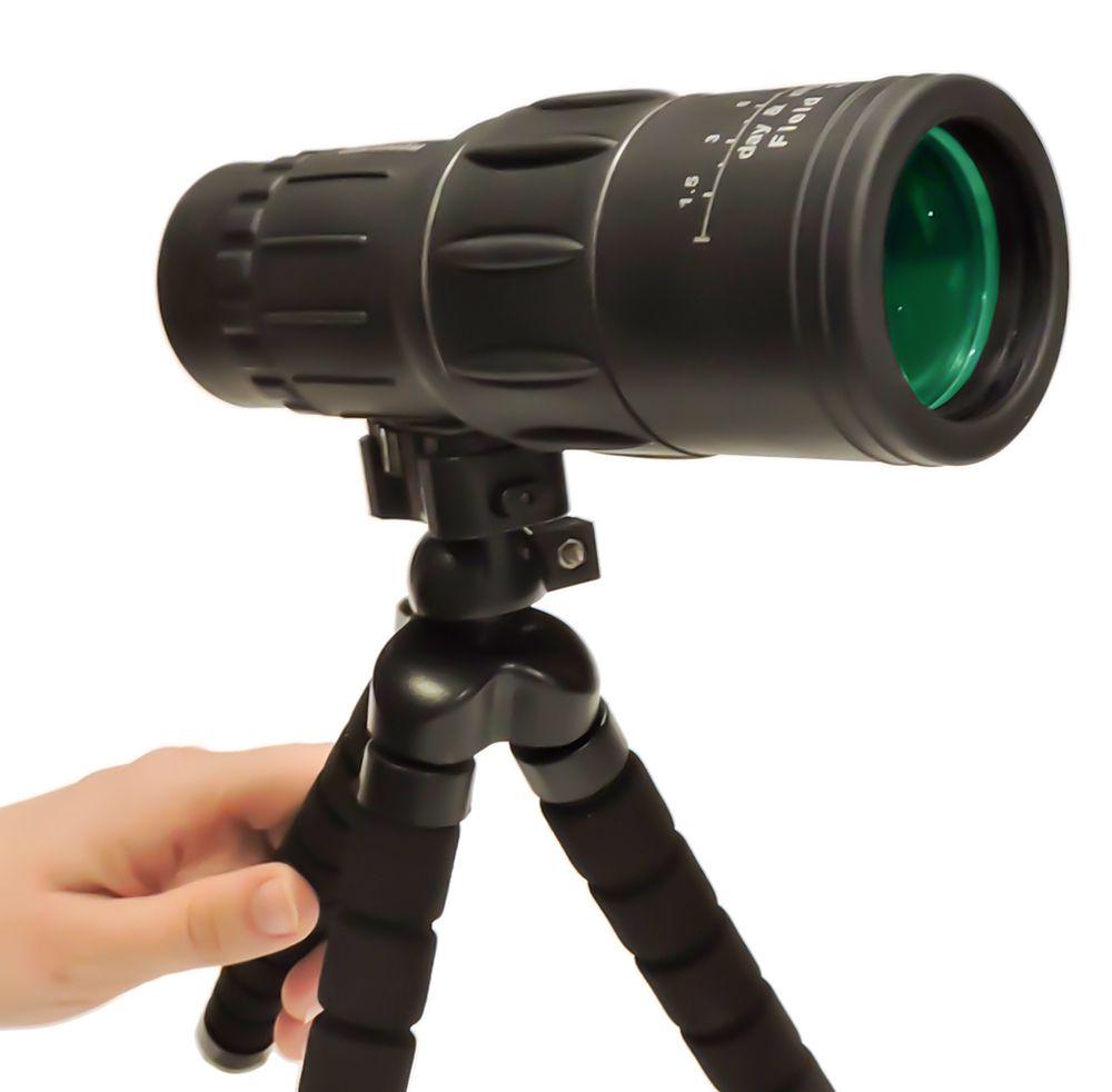 Monóculo 16x52 DCF PowerView Extra Bright com tripé mesa