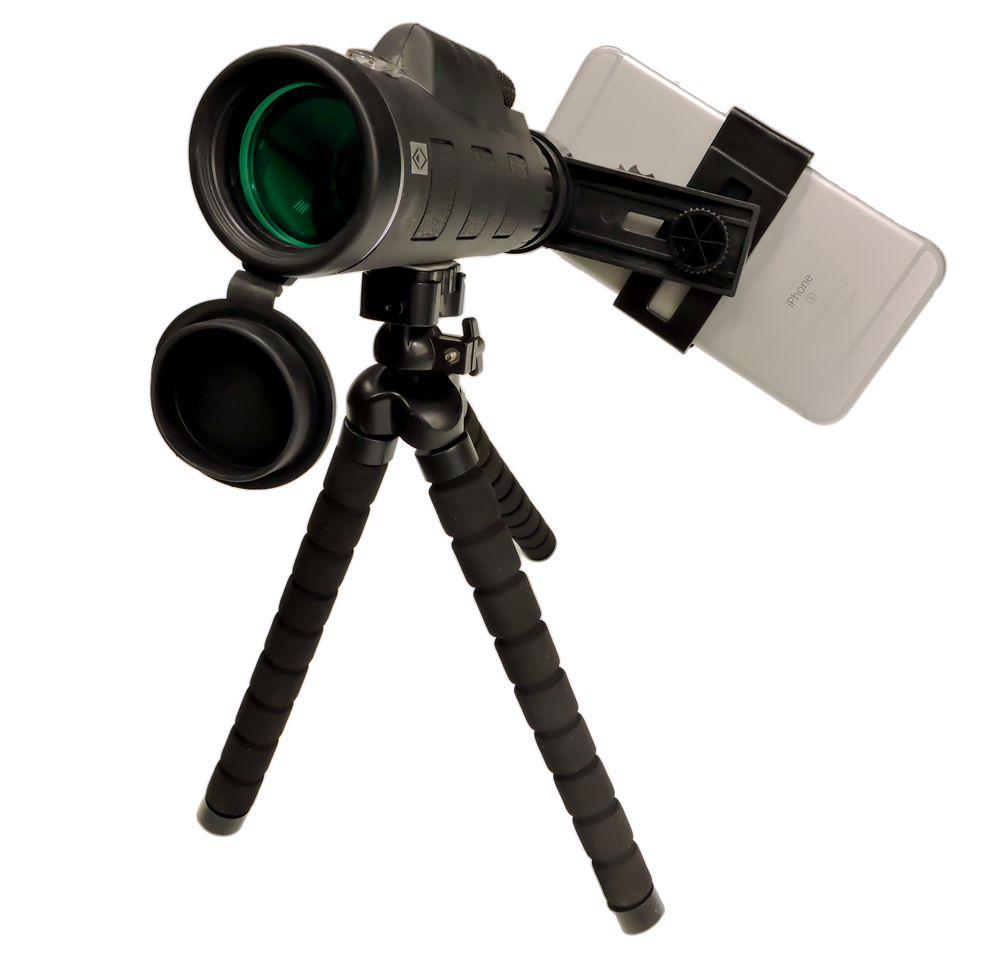 Luneta JY-4060  Nature com adaptador de celular e tripé Mesa