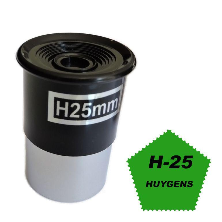 Ocular Huygens H 25mm (Padrão de encaixe de 1,25 Polegadas)
