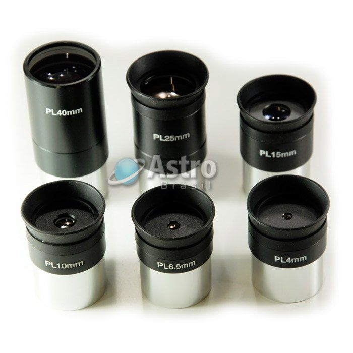 Ocular Super Plossl PL 10mm (Padrão de encaixe de 1,25 Polegadas)