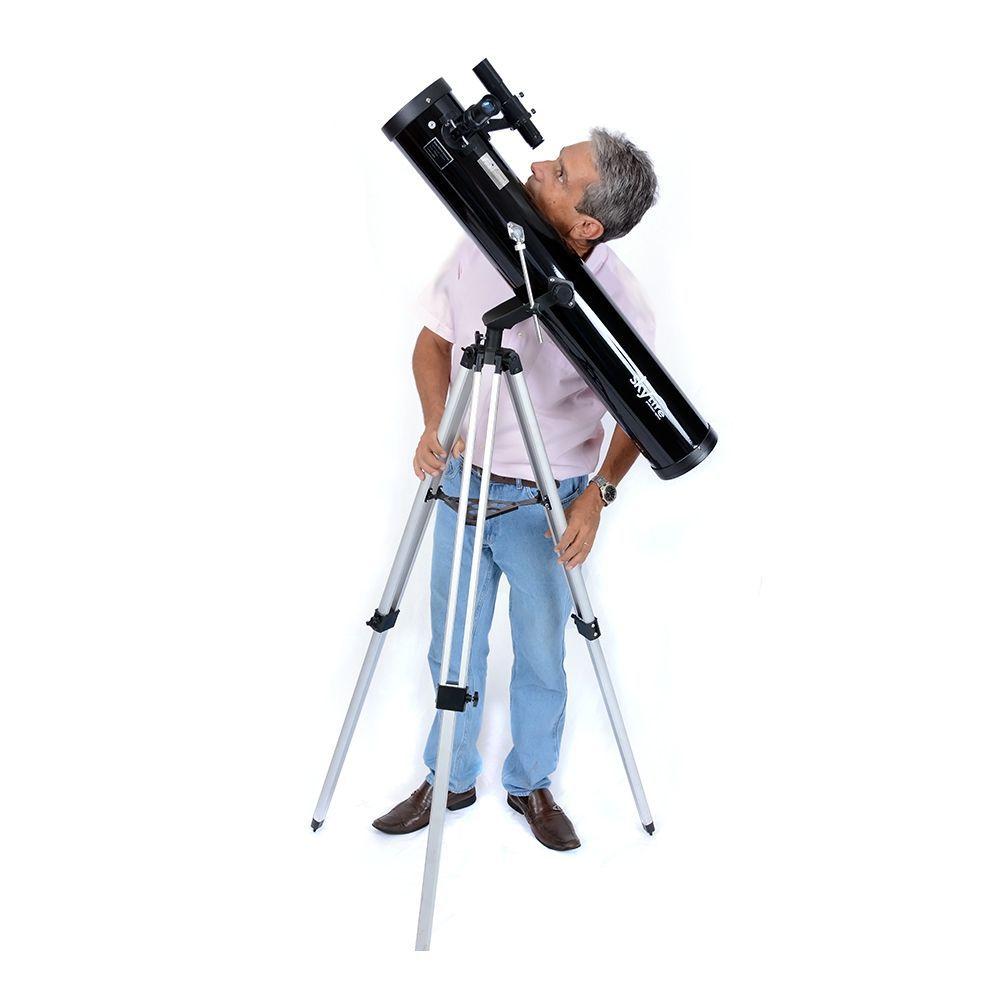 PONTA DE ESTOQUE - (DEVOLVIDO/USADO) - Telescópio Skylife 114mm Cygnus AZ2