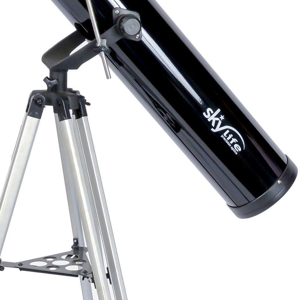 PONTA DE ESTOQUE: Telescópio Skylife 114mm Cygnus AZ2 + Super Plossl + CD-ROM