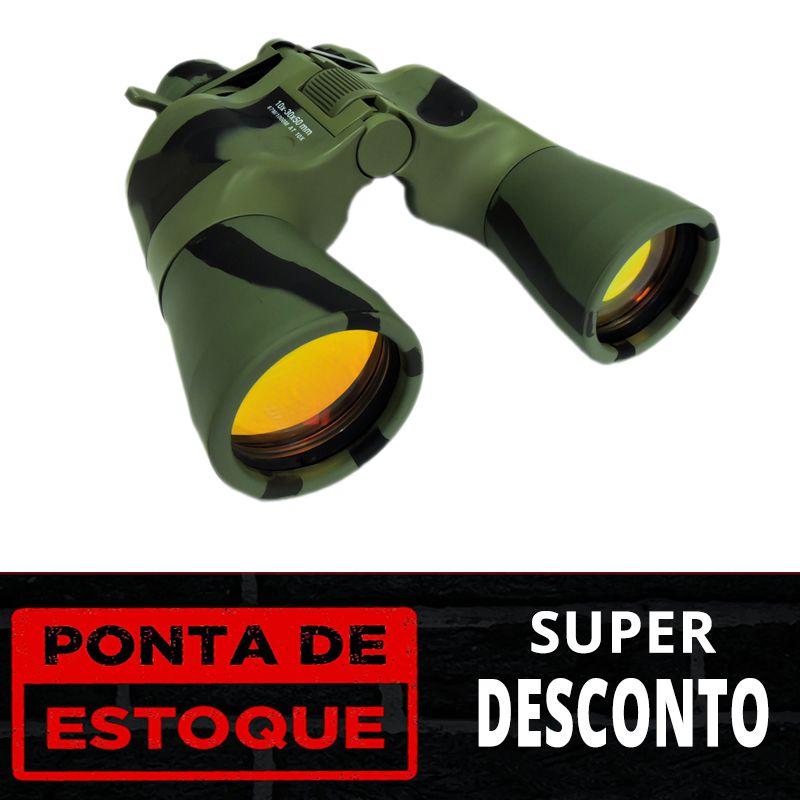 PONTA DE ESTOQUE - Binóculo Stein 10-30x50 PH Camo Panther Military