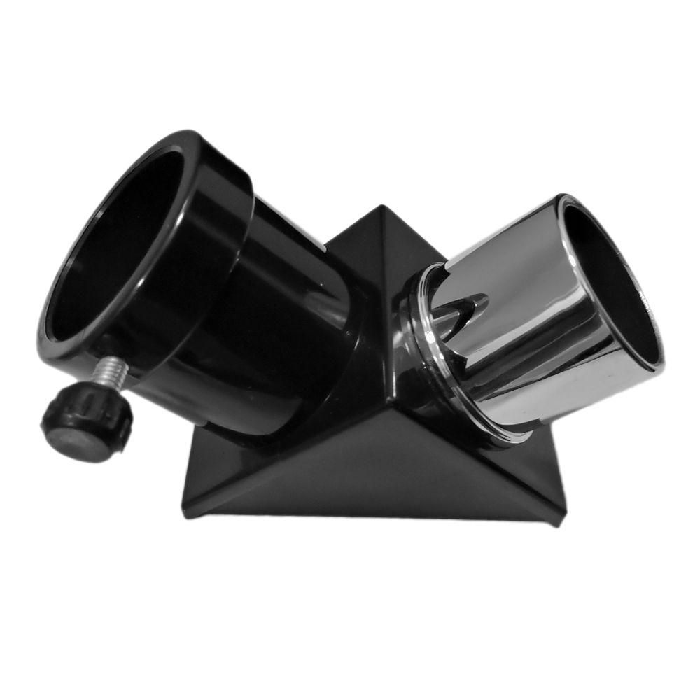 Prisma Diagonal de 90 graus de 1,25 Polegadas para telescópios refratores.
