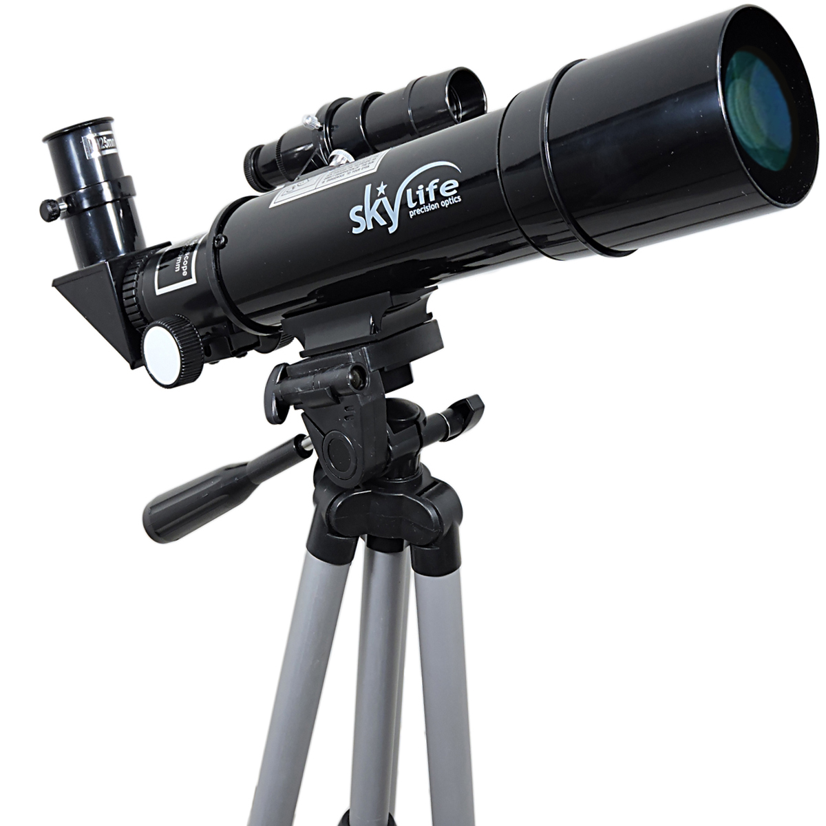Telescópio 50mm Skylife Novice 60X - Hi-Power com Padrão de Ocular 1,25