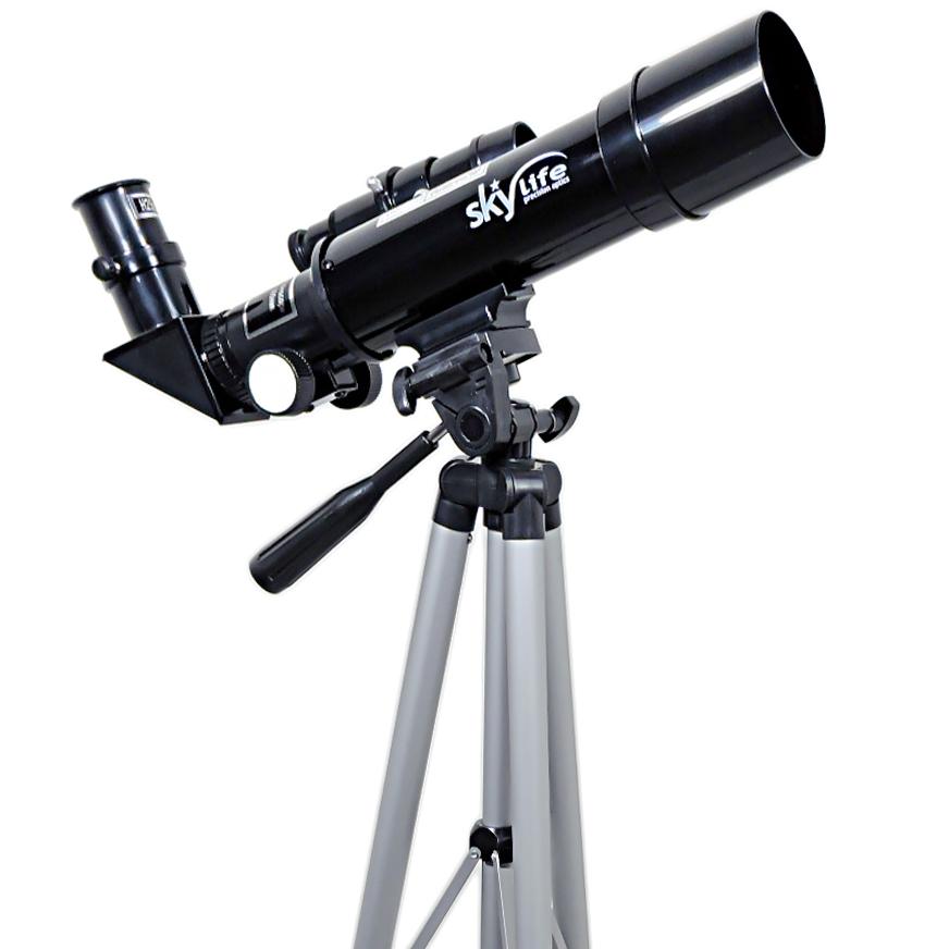 """Telescópio 50mm Skylife Novice 60X - Hi-Power com Padrão de Ocular 1,25"""""""