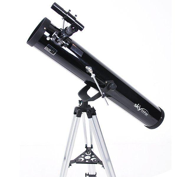 Telescópio 76mm (3 pol.) SkyLife Otho 3 AZ2 + Super Plossl + CD-ROM