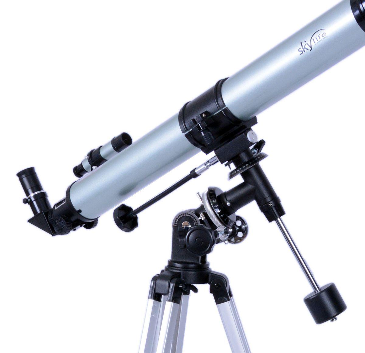 Telescópio refrator Hércules SK70 Montagem Equatorial