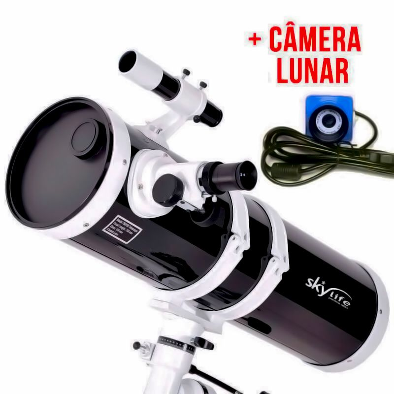 Telescópio Skylife 152mm Antares 6 Black Diamond + Câmera Lunar (Super Oferta)