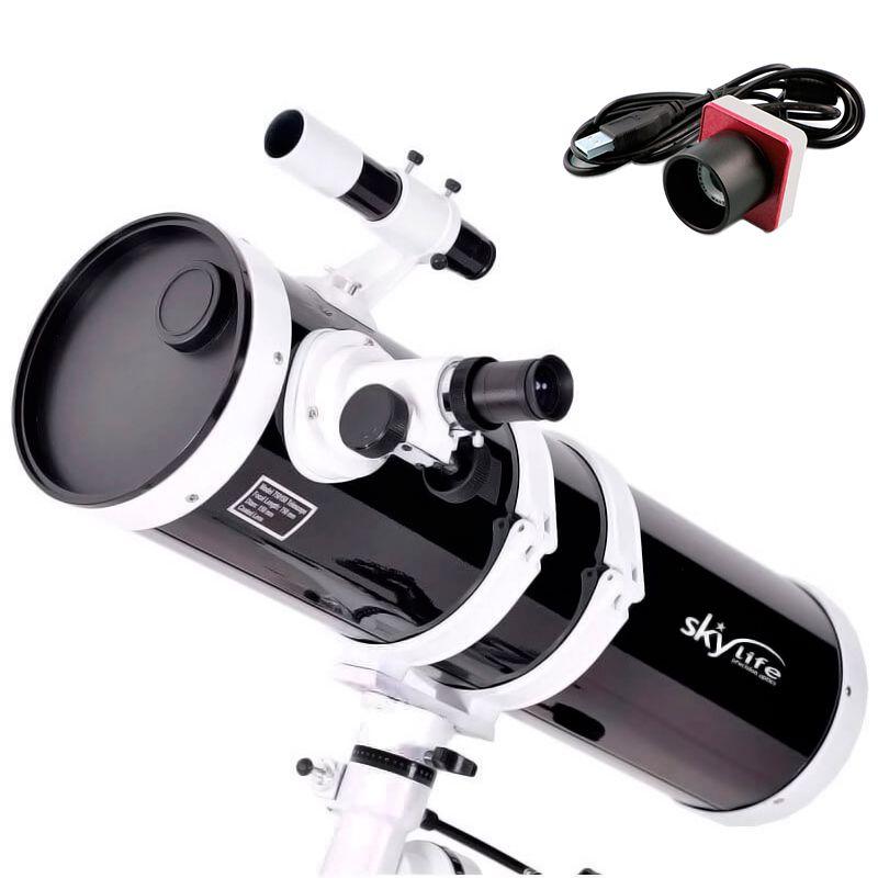 Telescópio Skylife 152mm Antares (6 Polegadas) Black Diamond + Câmera Lunar (Super Oferta)