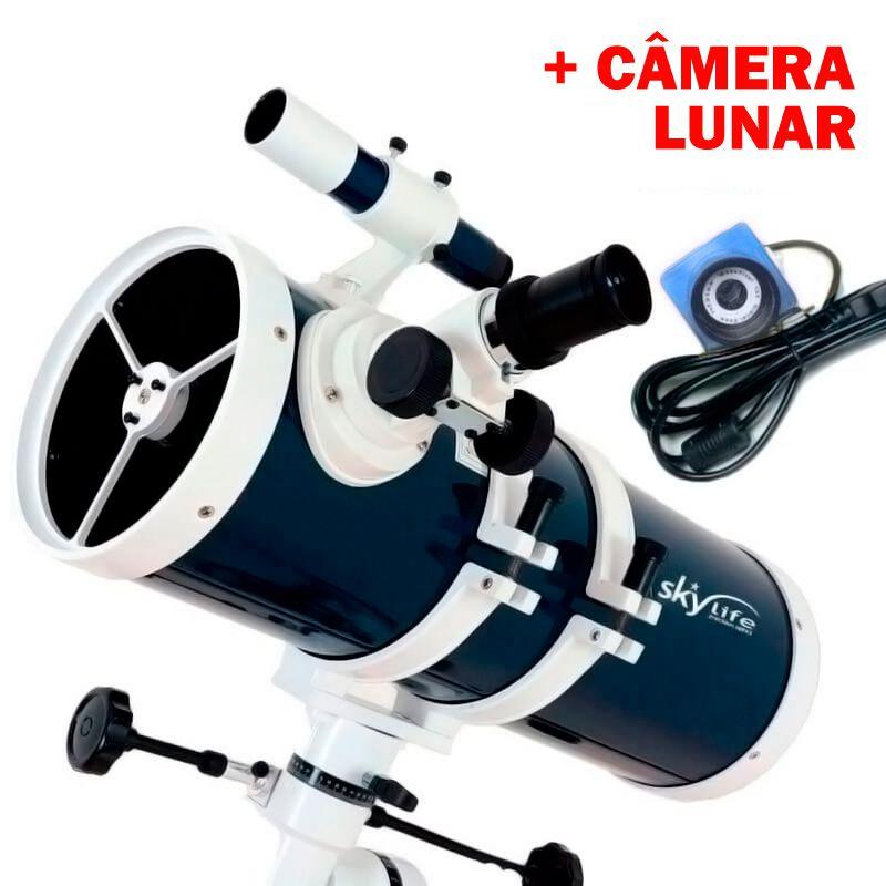 Telescópio Skylife 152mm Pandora (6 Polegadas) Blue Diamond + Câmera Lunar