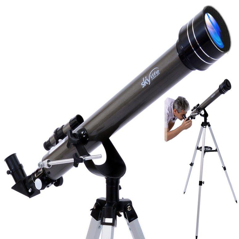Telescópio Skylife 60mm Gemini Montagem Germânica Astronômica AZ2
