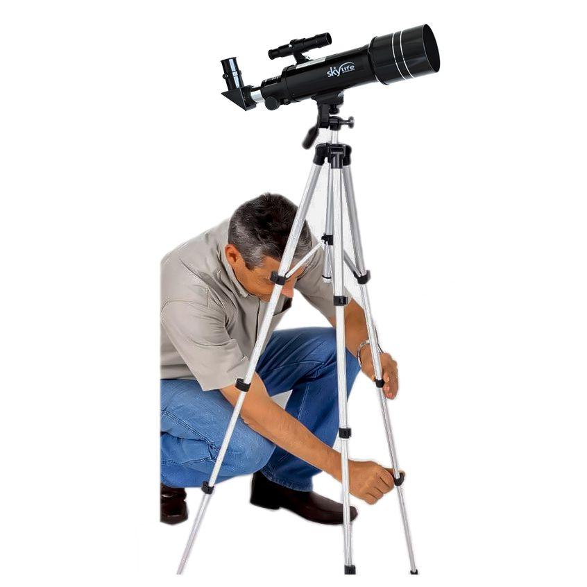 Telescópio Skylife 70mm TCRATER Pro Alta Performance - Terrestre /Astro
