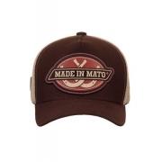 Boné Made In Mato Trucker Made HorseShoe  + 3 Brindes - B2047