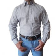 Camisa King Farm Branco/ Preto - CKF0002