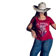 T-Shirt Ox Horns Bordô - 6078