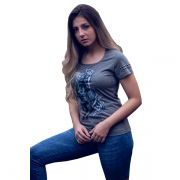 T-Shirt Ox Horns Grafite - 6080