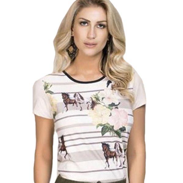 Baby Look Buphallos Horses - 9607
