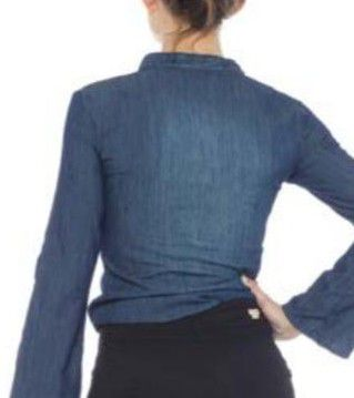 Bata Feminina Indulto Jeans