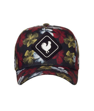Boné Made In Mato Snapback Flowers + 3 Brindes - B1681
