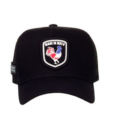 Boné Made In Mato Trucker American Rooster + 3 Brindes - B1697