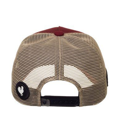 Boné Made In Mato Trucker Brown Diamond + 3 Brindes - B1729