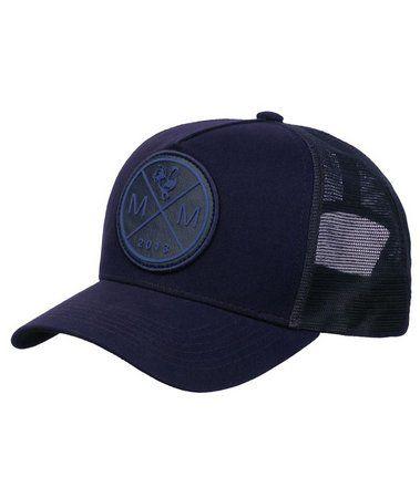 Boné Made In Mato Trucker Icon Blue In Blue + 3 Brindes - B1850