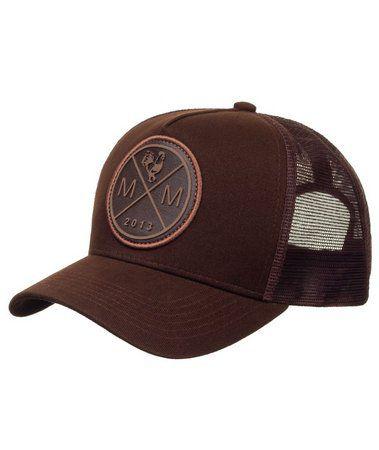 Boné Made In Mato Trucker Icon Brown In Brown + 3 Brindes - B1851