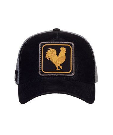 Boné Made In Mato Trucker Rooster Gold Nobuck + 3 Brindes - B1818