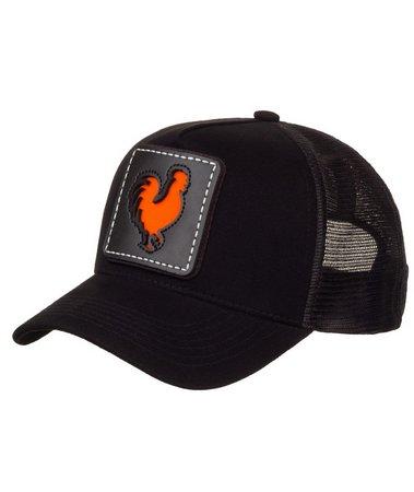 Boné Made In Mato Trucker Rooster Window Orange + 3 Brindes - B1901