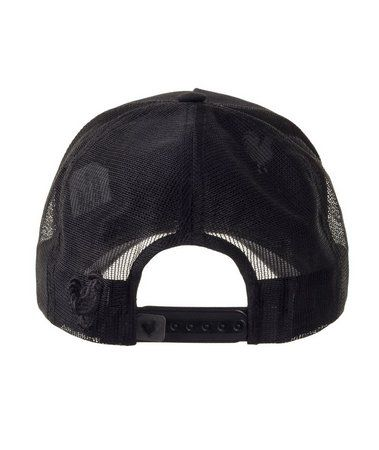Boné Made In Mato Trucker Sarja Preto + 3 Brindes - B1412