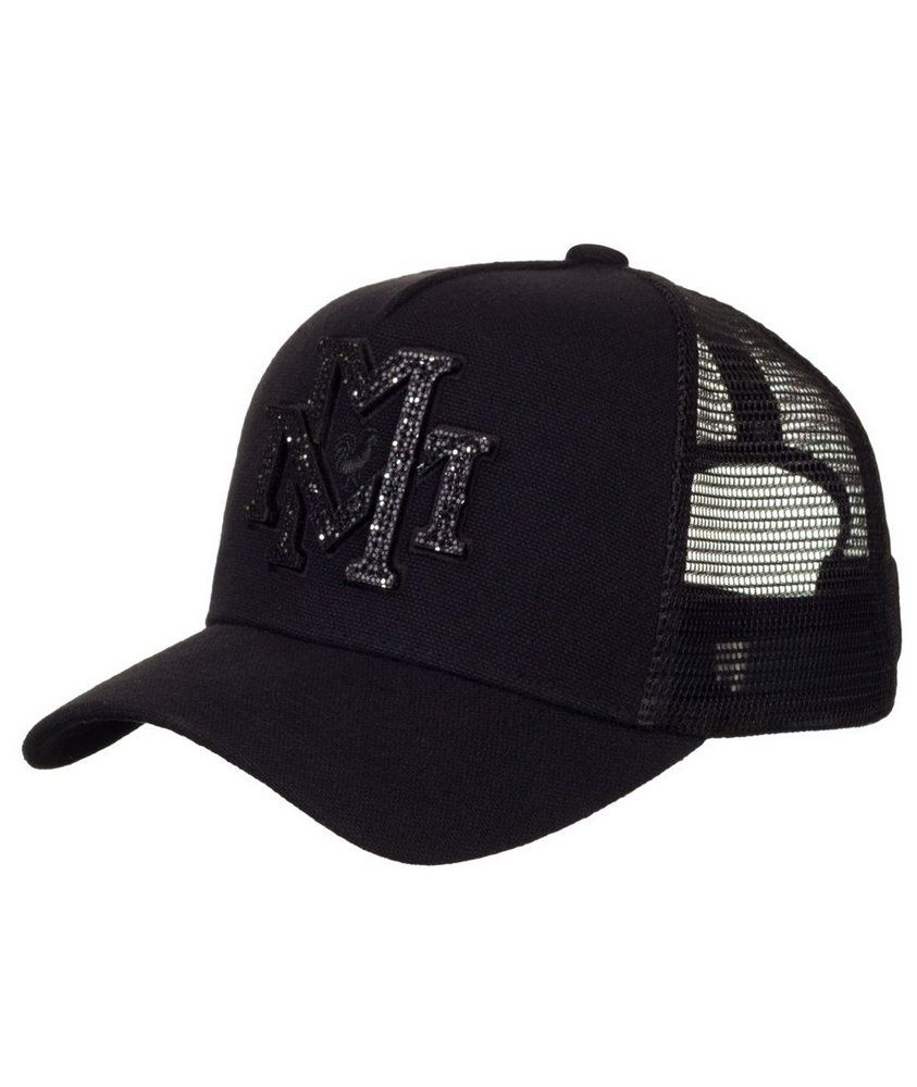 Boné Made In Mato Trucker Shine Black - B1720