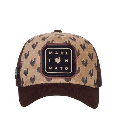 Boné Made In Mato Trucker Under Skin + 3 Brindes - B1762