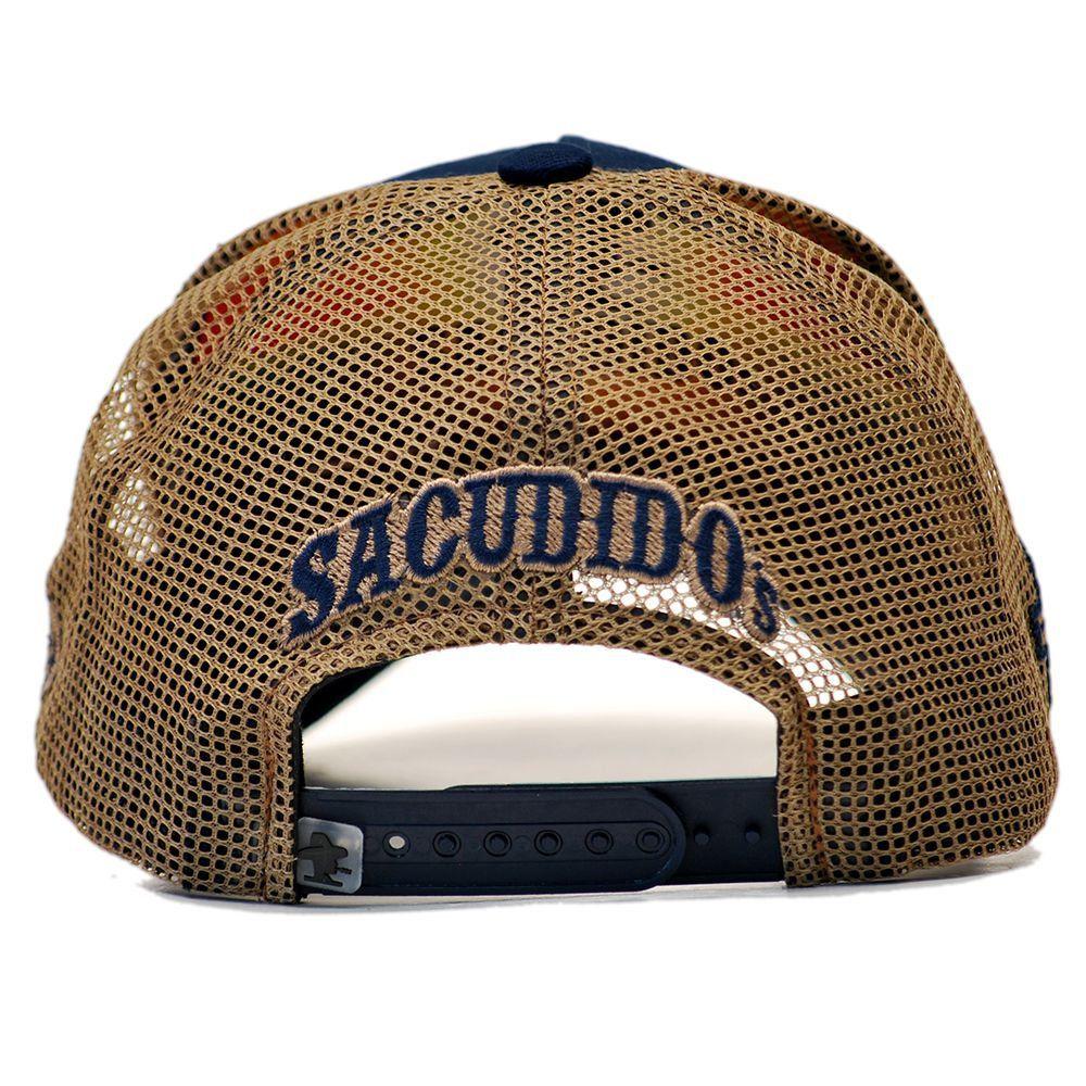 Boné Sacudido's Agro - Agronomia Azul Marinho + 3 Brindes - BN159SCD