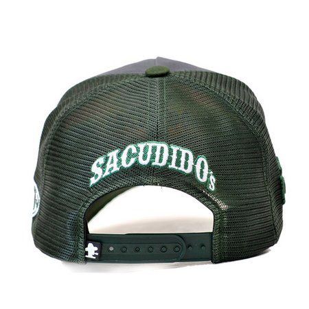 Boné Sacudido's Cana de Açúcar Verde + 3 Brindes - BN189SCD