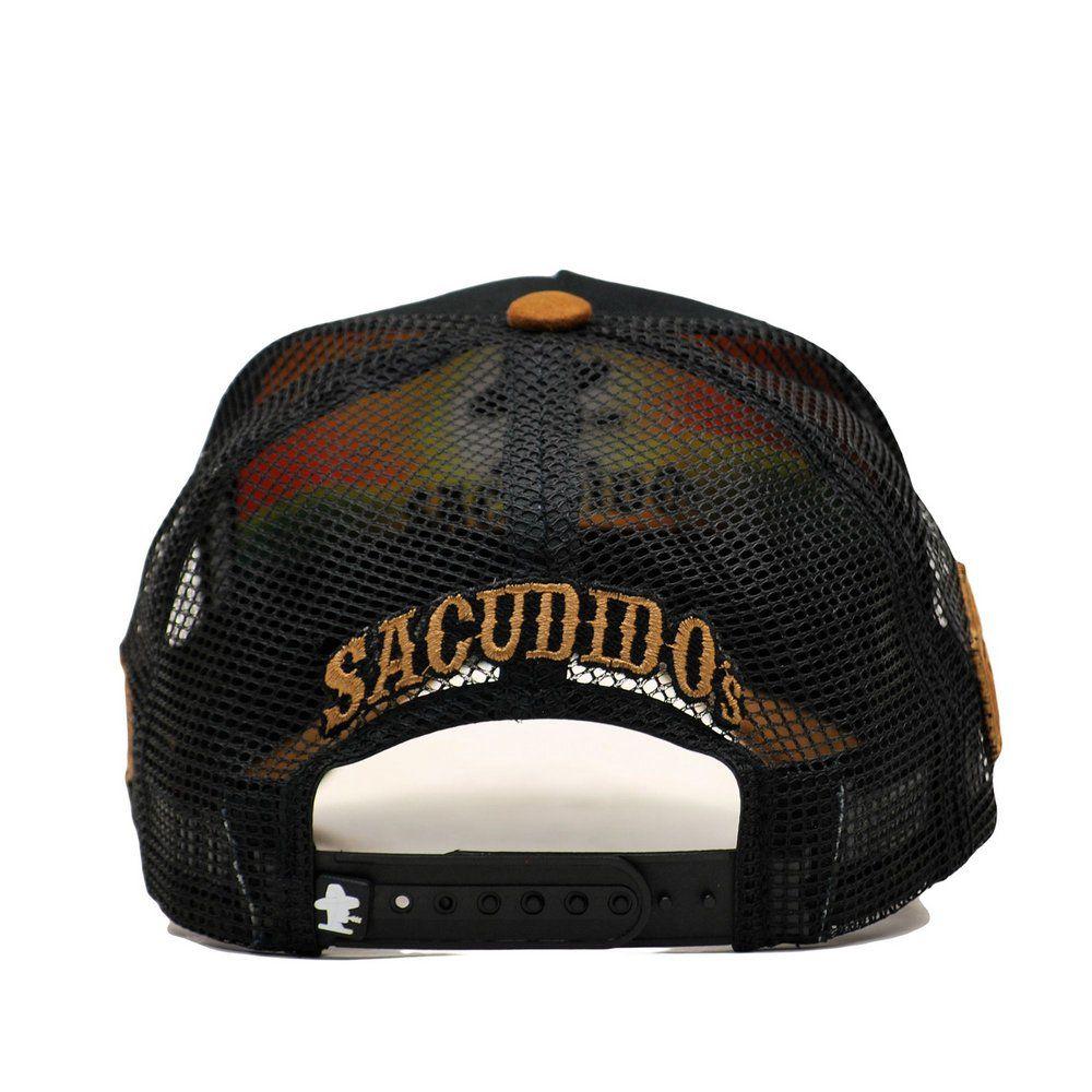 Boné Sacudido's Muladeiro Preto + 3 Brindes - BN203SCD