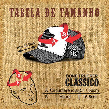 Boné Sacudido's Pecuária Leiteira Preto e Vinho + 3 Brindes - BN202SCD