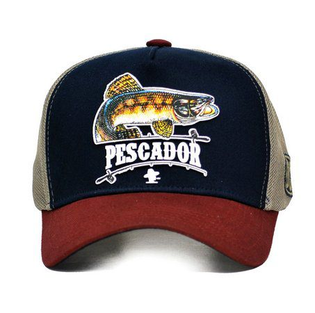 Boné Sacudido's Pescador Traíra + 3 Brindes - BN127SCD