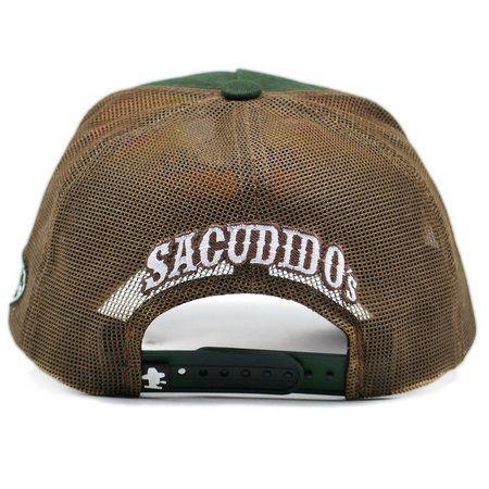 Boné Sacudido's Tereré Verde e Marrom + 3 Brindes - BN124SCD