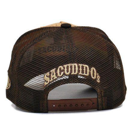 Boné Sacudido's Trucker De Cortiça Marrom + 3 Brindes - BN08SCD