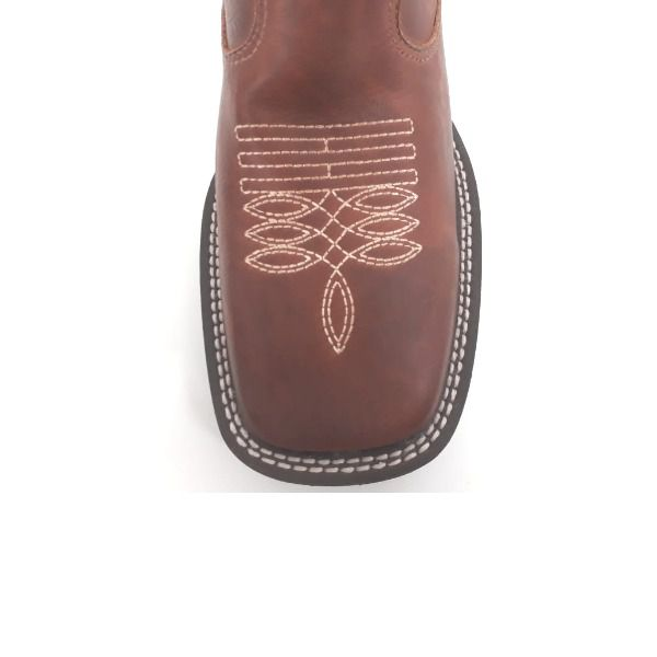 Botina Unissex Gator Boots Pinhão