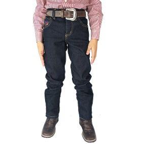 Calça Infantil Dock's Basic Lycra Jeans Amaciado - 904