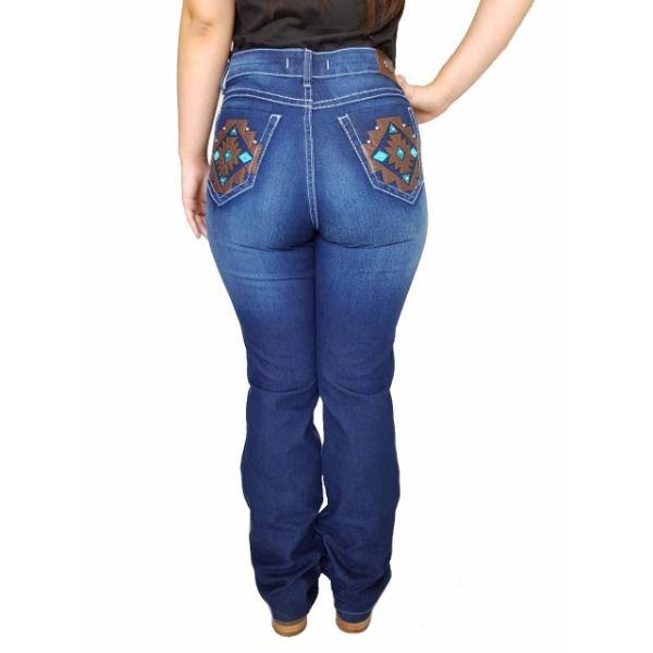 Calça Feminina Dock's Indian Pesp Jeans - 1964
