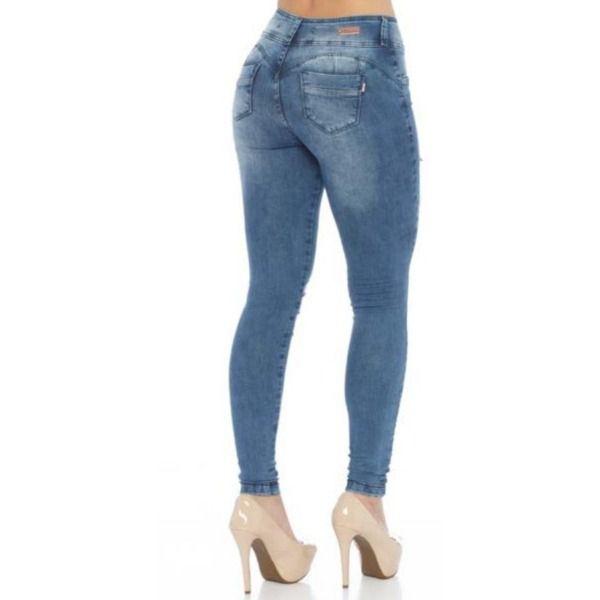 Calça Feminina Indulto Jeans Up Fit Média Skinny