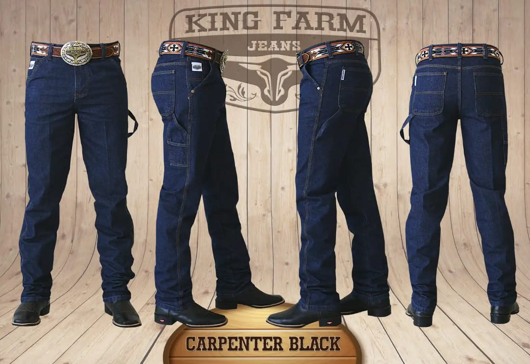Calça Masculina King Farm Carpinteira Black