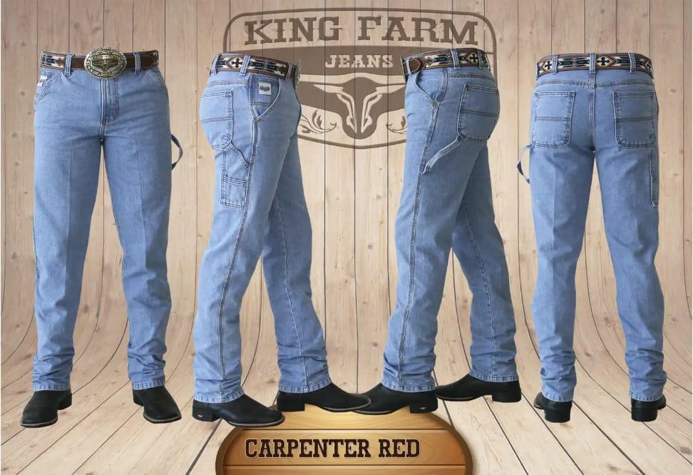 Calça Masculina King Farm Carpinteira Red
