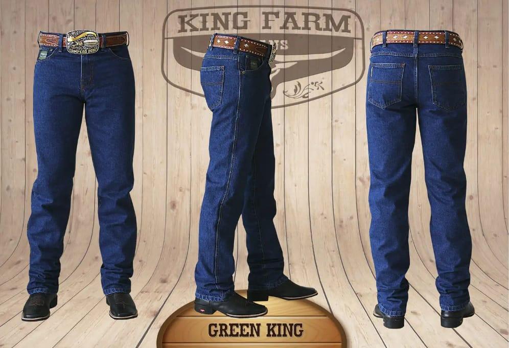 Calça Masculina King Farm Tradicional Green