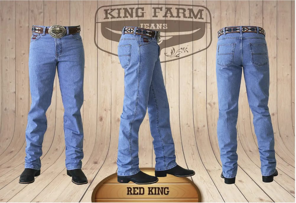 Calça Masculina King Farm Tradicional Red