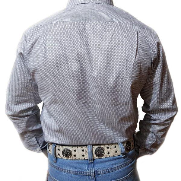 Camisa King Farm Branco/ Preto - CKF0002